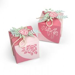 663591 - Sizzix Thinlits Die Set 8PK - Wrap Favor Box by Lynda Kanase